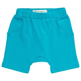 Bio Baby Shorts neutral türkis