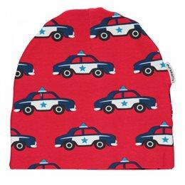 Polizei Auto Kindermütze leicht Beanie