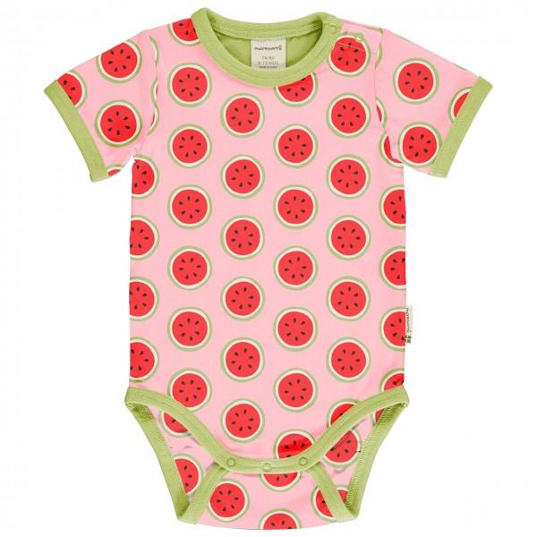 Leichter Body kurzarm Wassermelonen rosa