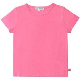 Rosa Shirt kurzarm uni Basic