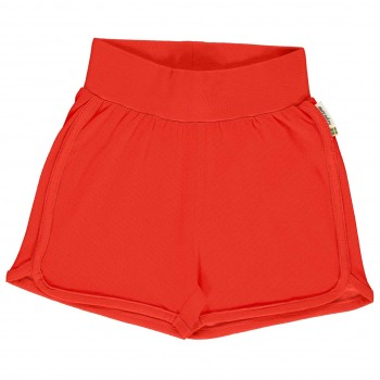 Leichte Jersey Shorts in rot