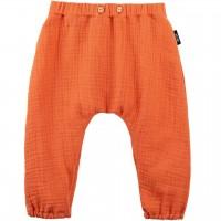 Baby Hose Musselin papaya-orange