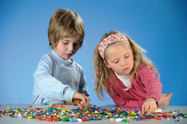Klassische Kinderknete 500g Vorteilseimer