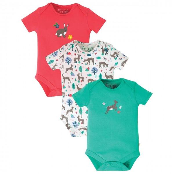 Baby Kleid Kleidchen Hase Erdbeere 100/% Baumwolle Bio-Baumwolle