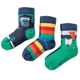 Kinder Jungen Bio Socken 3er Pack