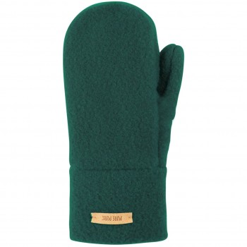 Warme Kinder Handschuhe Wolle grün