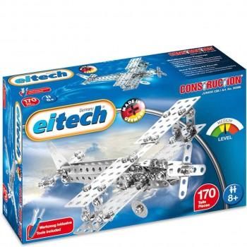 Metallbaukasten Flugzeug 2 Modelle 170 Teile