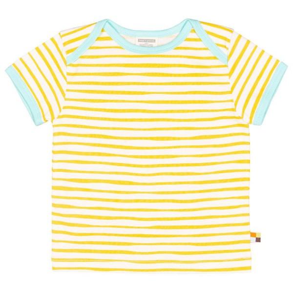 fb0c4b2f8 loud and proud Shirt kurzarm Streifen gelb