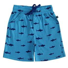 Jungen Shorts Haie blau