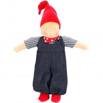Bio Puppe zum Ankleiden 38 cm - Bobo