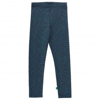Leichte Leggings Safari-Muster dunkelblau