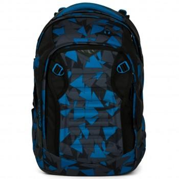 Schulrucksack satch match Blue Triangle mit Helmfach - 35l