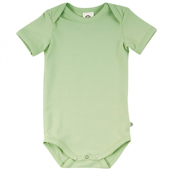 Leichter Body kurzarm in hellem grün