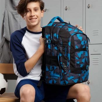 Schulrucksack ergonomisch satch pack Blue Triangle - 30l