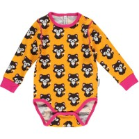 maxomorra Katzen Baby Body soft mit pink