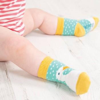 Mädchen Socken 1 Paar gelb Gänserich