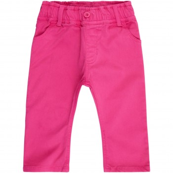 Baby  Outdoor  Übergangshose  Twill  in  pink