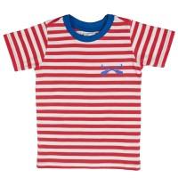 Basball T-Shirt rot weiß blau