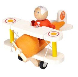 Spielzeug Flugzeug Doppeldecker