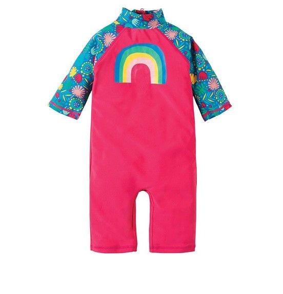 klare Textur günstig gut aus x Schwimmanzug & Badeanzug fürs Baby