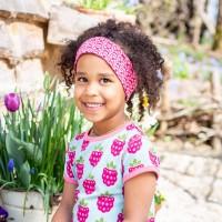Haarband Marienkäfer 3- 8 Jahre pink