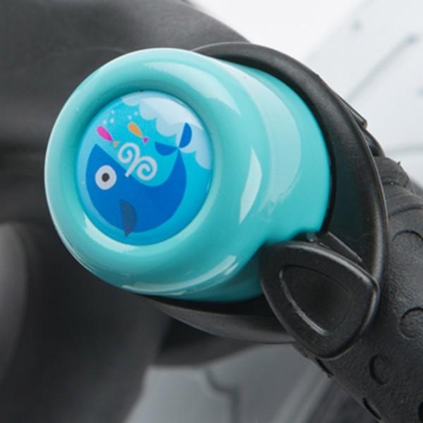 Klingel für Laufrad - Blauwal