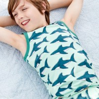 Unterhemd Haie in mint
