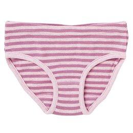 Mädchen Slip rosa gestreift Bio