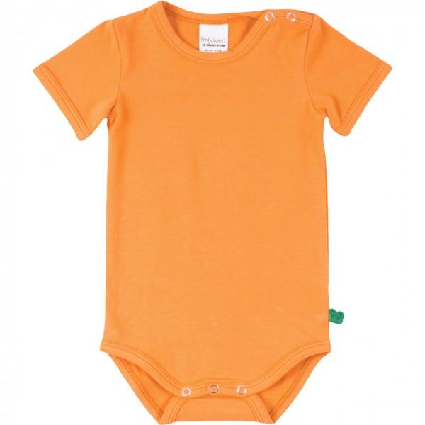 Basic Body kurzarm in hellem orange