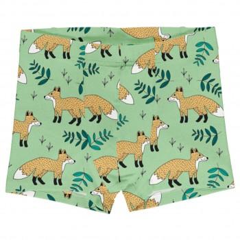 Boxershorts Füchse in hellgrün