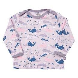 Wal-Druck Langarmshirt in levender