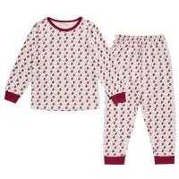 Vorschau: Mädchen Bio Pyjama mit Arm- und Fussbündchen - Pinguine