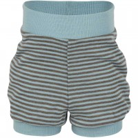 Babyshorts Wolle Seide in hellblau