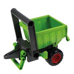 Anhänger Kunststoff Holz Gemisch - verzinkte Stahlachsen
