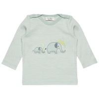 Baby Langarmshirt mit knuffigen Elefanten