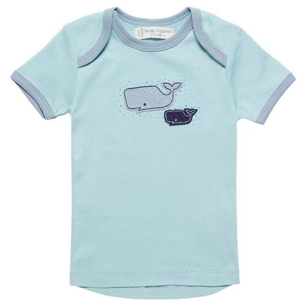 M/ädchen T-Shirt Tilly Baby T-Shirt mit Schlupfkragen Sense Organics Baby