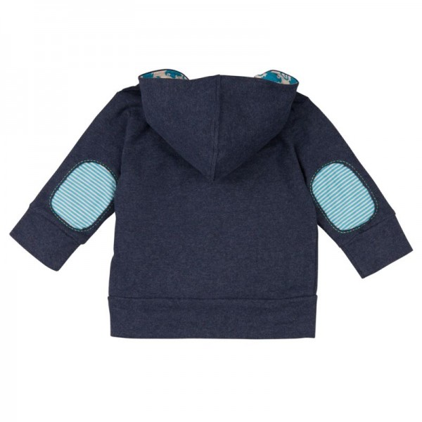 Sweatjacke für Kinder Loud and Proud blau/grau