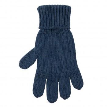 Kinder Handschuhe marine Strick