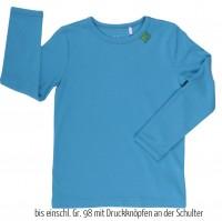 Anpassungsfähiges Shirt oder als Unterhemd - blau