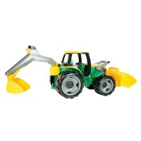 Vorschau: Riesen Traktor - 70 cm - mit Frontlader & Baggerarm