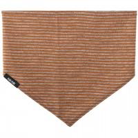 Wolle Seide elastisches weiches Halstuch karamell-braun