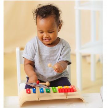 Xylophon für Kinder mit Percussion