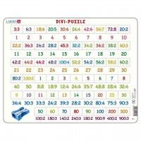 Lernpuzzle Division für Kinder ab 8 Jahre