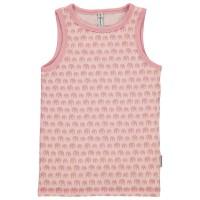 Unterhemd in rosa mit Elefanten