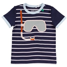 Shirt kurzarm Taucher navy