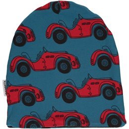 Leichte Cabriolet Beanie blau