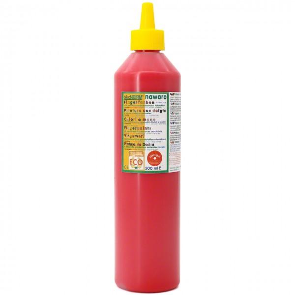 Fingerfarben 500 ml Schul- und Theaterfarbe rot
