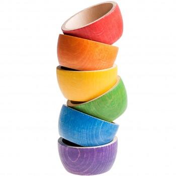Bowls 6er Set in 6 Farben – ab 18 Monaten