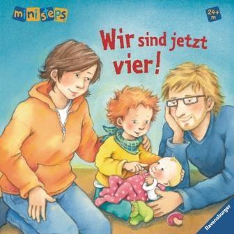 Wir sind jetzt vier! Buch zum Geschwisterkind