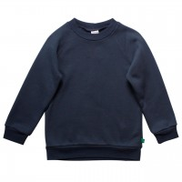 Basic Sweat Pullover dunkelblau